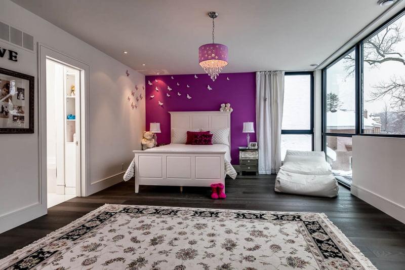 Decoración del dormitorio para chicas