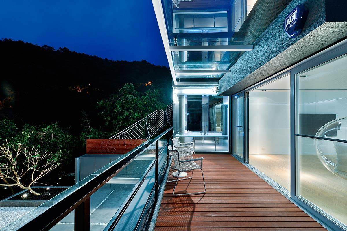 Terraza del segundo piso