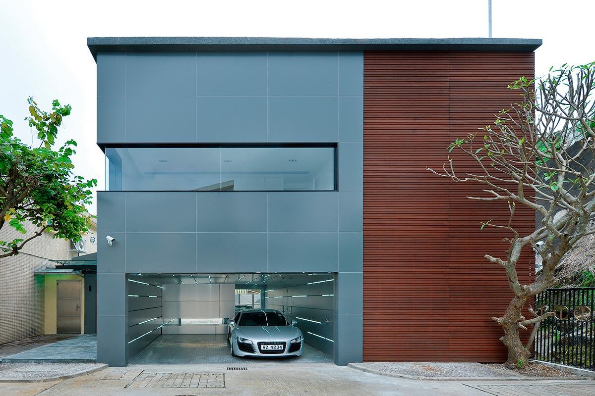 Fachada principal de la casa – Diseño y fotos: Millimeter Interior Design