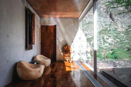 Diseño de muebles pétreos en la terraza